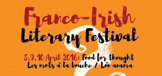 Poster Franco Irish Literary Festival