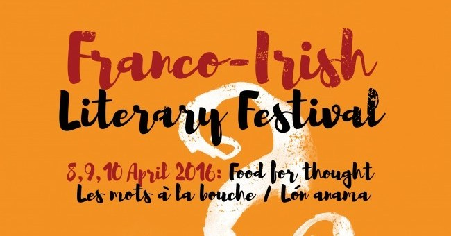 Poster Franco Irish Literary Festival