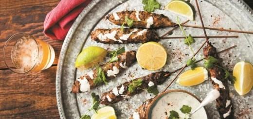 Fiona Uyema Shichimi Lamb Kofta Kebabs