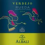 Vina Albali Rueda Verdejo - new 2014 design