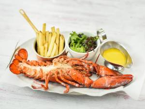 Deliveroo Rock Lobster