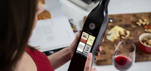 Kuvée, the Hi-Tech Wine Gadget with a Touch Screen and Wi-Fi