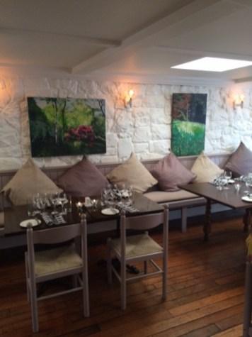 Inside Fairytale Village Dining Room