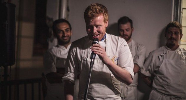 Mark Moriarty S.Pellegrino Young Chef 2015