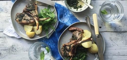 Mint Marinaded Lamb Chops Recipe Video by Jette Virdi