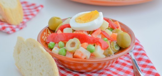 Russian Salad tapa recipe by Tasty Mediterraneo
