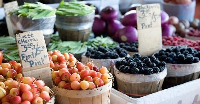 Summer Market Food