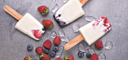 Probiotic Berry Ice Pops Recipe by Roz Purcell