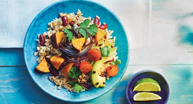 Mexican Rainbow Rice Bowl Recipe by M&S