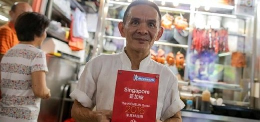 The Chef Behind World's First Michelin Starred Street Stall