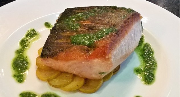 Mendel Semillon with Wild Irish Salmon - Recipe and Wine Pairing by Julie Dupouy