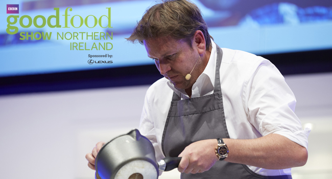 James Martin BBC Good Food Northern Ireland