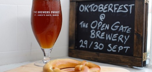 Oktoberfest Gets an Irish Accent at The Open Gate Brewery on the 29th and 30th of September
