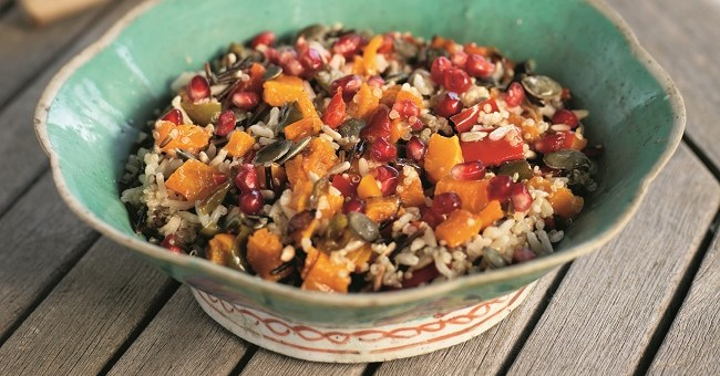 Three-Grain Salad Recipe by Derval O'Rourke