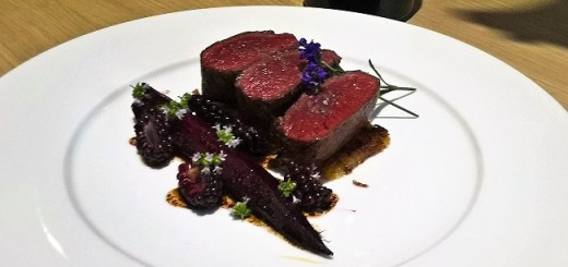 Venison, Beetroot, Blackberries and Lavender with La Solana Suertes del Marqués – Recipe and Wine Pairing by Julie Dupouy