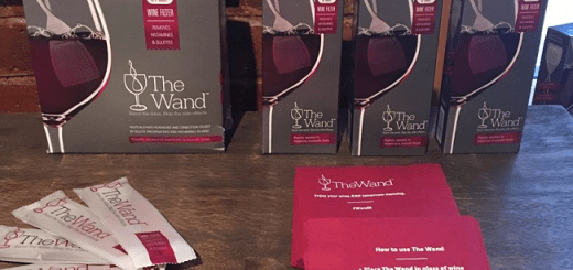 "New Gadget ""The Wand"" Claims To Remove the Elements in Wine that Cause Hangovers"