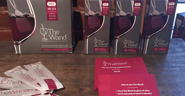"""New Gadget """"The Wand"""" Claims To Remove the Elements in Wine that Cause Hangovers"""