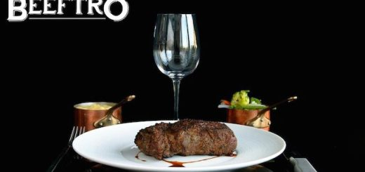 Beeftro Dundrum or Balfe Street - 3 course dinner for 2 plus a glass of wine each for only €50