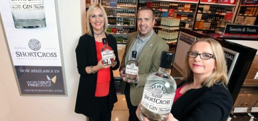Northern Ireland's ShortCross Gin Now on Shelf at Selected World Duty Free Airports