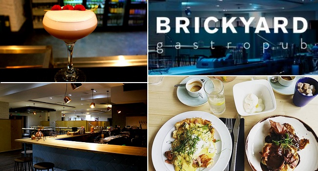 Brickyard Gastropub - Lunch for 2 with tea or coffee for only €15