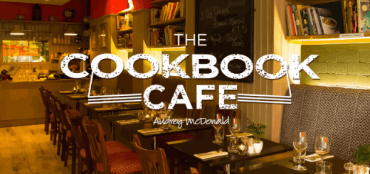 2 Course Lunch for 2 with a Glass of Wine each at The Cookbook Cafe for just €29.50