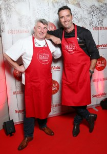 Martin Shanahan & Kevin Dundon   Photo Gallery from SuperValu's Spectacular Christmas Celebration at Charlotte Quay