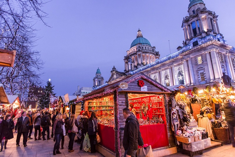 Enjoy the Festive Sights and Sounds of Belfast Christmas Market