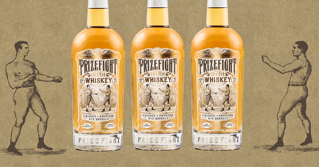 Prizefight Irish Whiskey: a Bottle with a Punch Launched at Whiskey Live Dublin