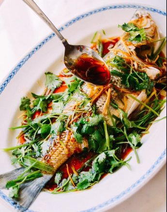 Chinese Whole Fish Steamed