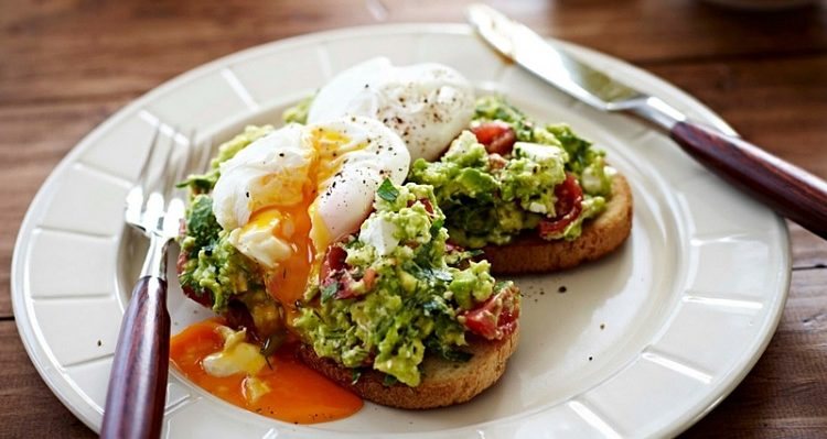 Sourdough Bread Avocado and Eggs