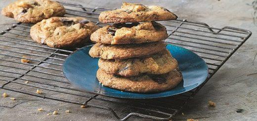 Dark Chocolate Chicharron Cookies Recipe
