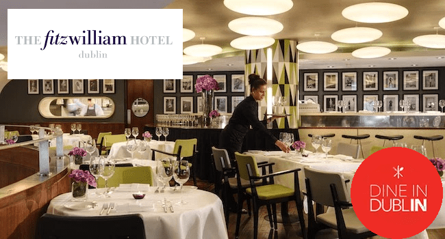 Dine in Dublin – Citron Restaurant – Enjoy 3 Course Dinner for two with Tea or Coffee