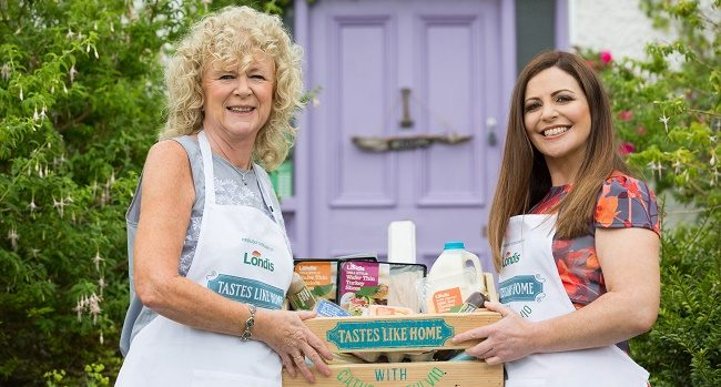 Nuala Bradley, participant on Londis Tastes like Home Series 1 with Catherine Fulvio (1)