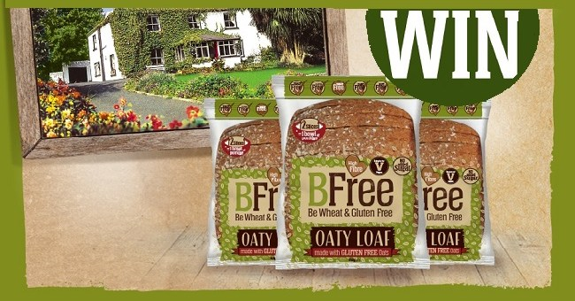 Win an Overnight stay for Two at Ballyknocken House & A Month's Supply of BFree Oaty Loaf