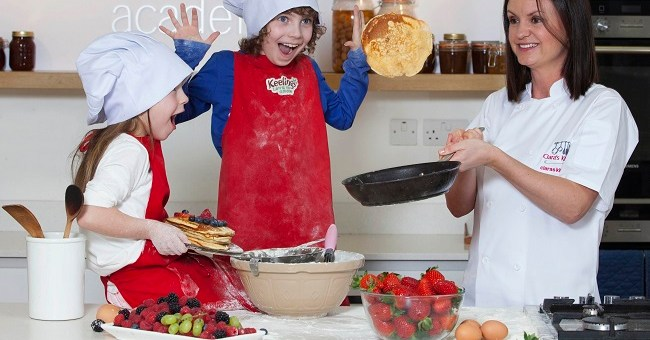 Getting Ready for a Berry Tasty Pancake Tuesday with Keelings' #FruitFaces