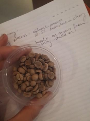 DBA beans notes