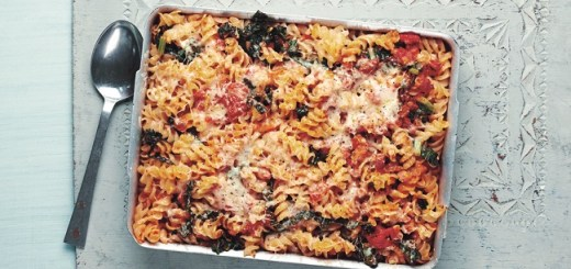 Tuscan Pasta Bake with Cavolo Nero