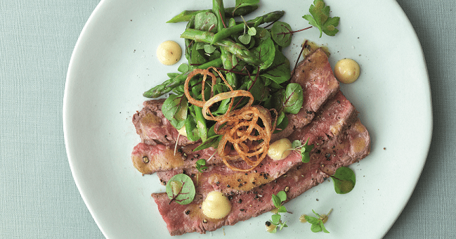 Rare Roast Beef Salad Recipe by Marcus Wareing