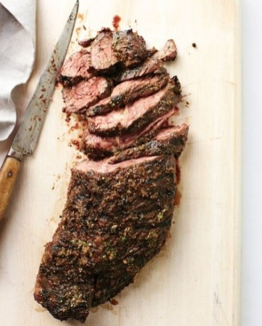 Whole Roasted Fillet of Beef Recipe with Asian Spice Rub by Chef Kwanghi Chan