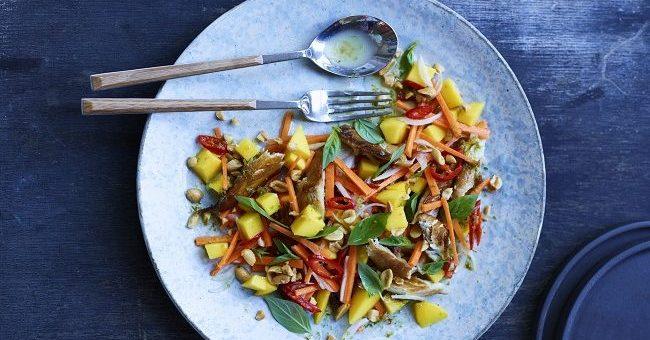 Smoked Mackerel Salad Recipe