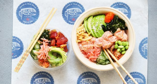 Upgrade Your Lunch with 2017's Hottest Food Trend – Signature Poke Bowl at Brand New Klaw Poke for €6