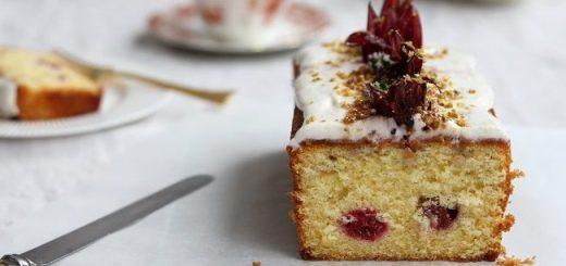 Lemon Hibiscus Loaf Cake Recipe