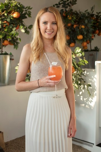 Niamh O'Shaughnessy pictured at the launch of The House of Peroni in Dublin. The House of Peroni is open to the public from 25th of May to 4th of June at 1 Dame Lane, showcasing the best of contemporary Italian food and drink. Over 18s only. For more info visit www.thehouseofperoni.com. Photo: Anthony Woods