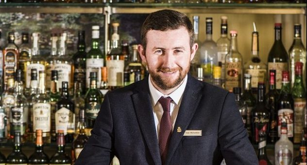 Sean McGoldrick Bar Manager at The Shelbourne