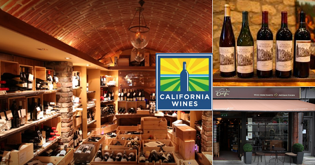 Taste Iconic California Wines with John Wilson at 64 Wine this Wednesday 10th of May