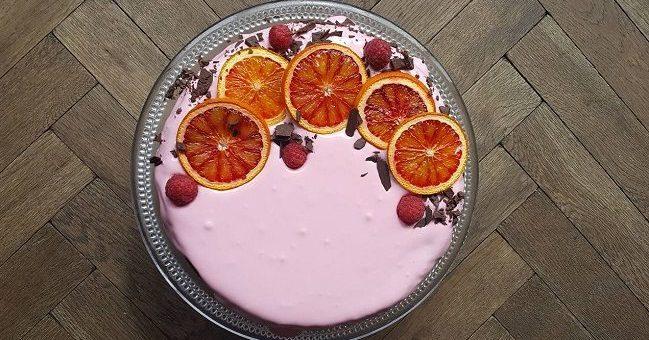 Blood Orange and Almond Cake Recipe by Thea Kinsella