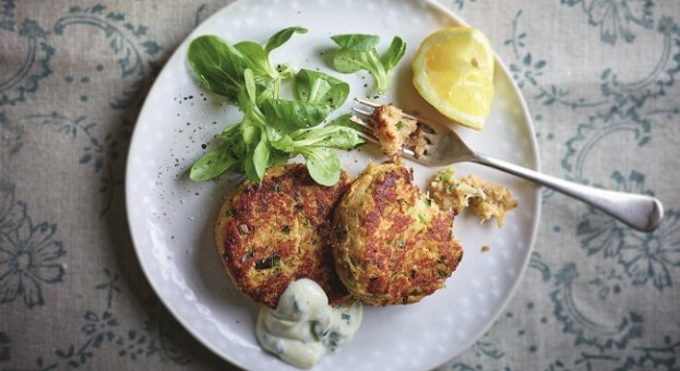 Crabby Potato Cakes Recipe