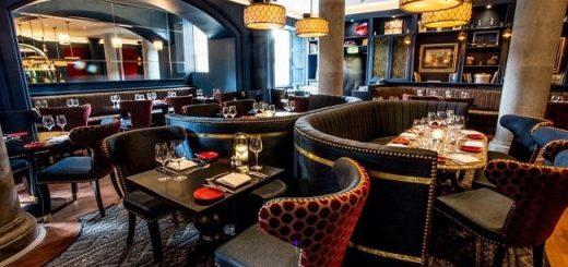 Gandon Room Slane Castle Restaurant