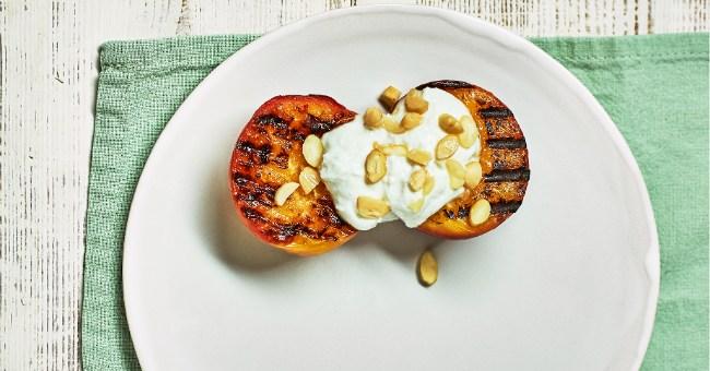 Griddled Almond Nectarine