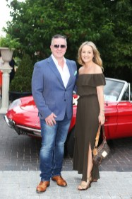 NO REPRO FEE 15/06/2017 La Dolce Vita at InterContinental Dublin Midsummer Party. Pictured last night were Nigal Doolin and Elaine Butler as over 300 invited guests gathered at the five-star InterContinental Dublin in Ballsbridge for a La Dolce Vita-themed midsummer garden party. Guests enjoyed a feast of Italian fare and sipped on refreshing Aperol Spritzes, Prosecco and Gunpowder Gin classic Negronis, as Swing band the Irish Rat Pack entertained the crowd with their jazzy big band numbers. A 1968 Alfa Romeo Spider even made an appearance to top off the La Dolce Vita experience! Photograph: Leon Farrell / Photocall Ireland